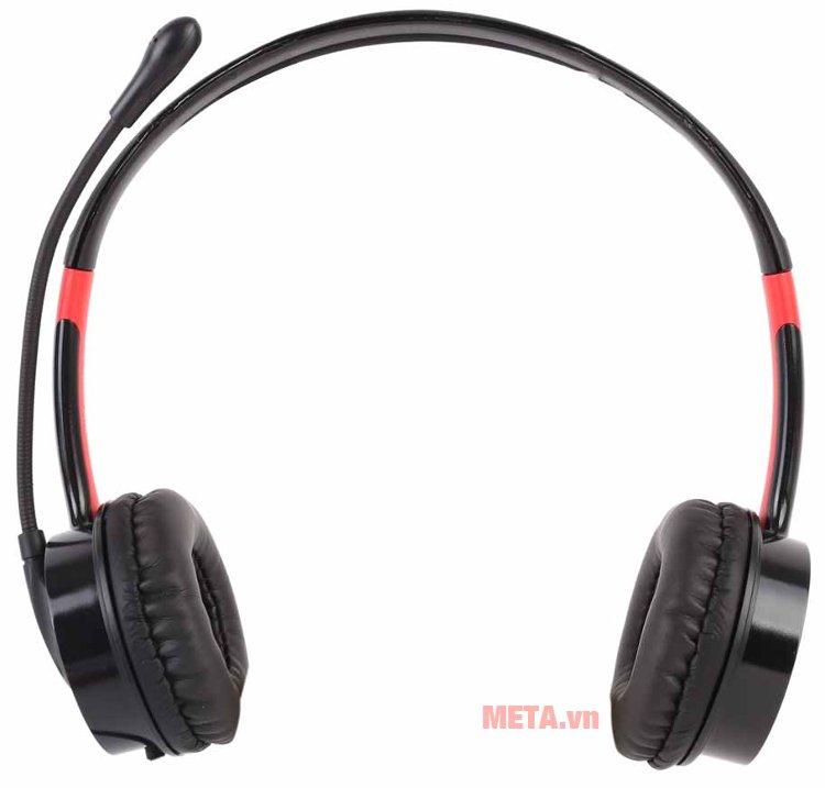 Tai nghe Microlab K270 với gam màu đen đỏ