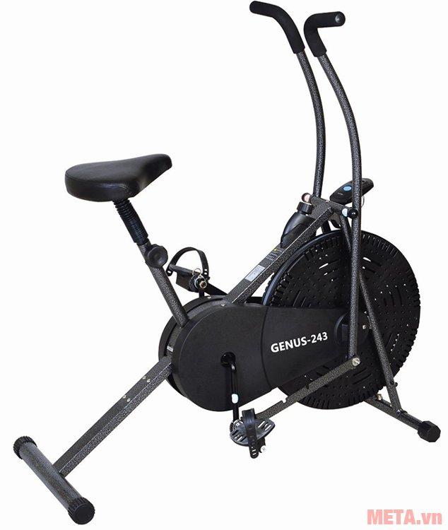 Xe đạp tập liên hoàn Genus 243 chịu được tải trọng người dùng 90kg