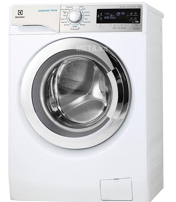 Máy giặt có thiết kế sang trọng hiện đại