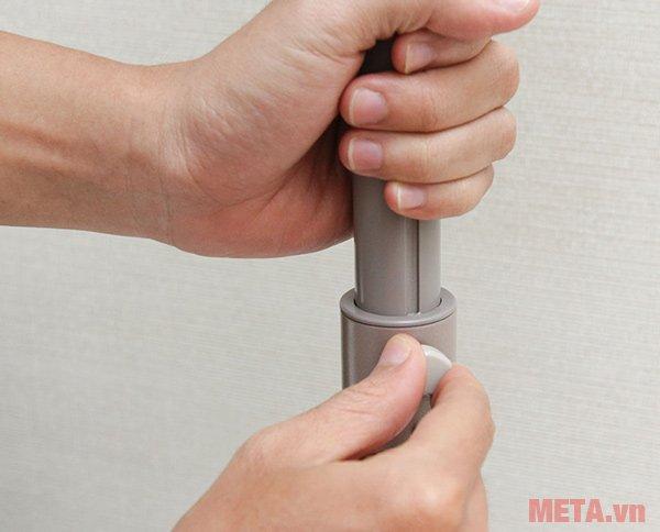 Nấc nối giúp quạt KDK có thể thay đổi chiều cao và tháo rời một cách dễ dàng
