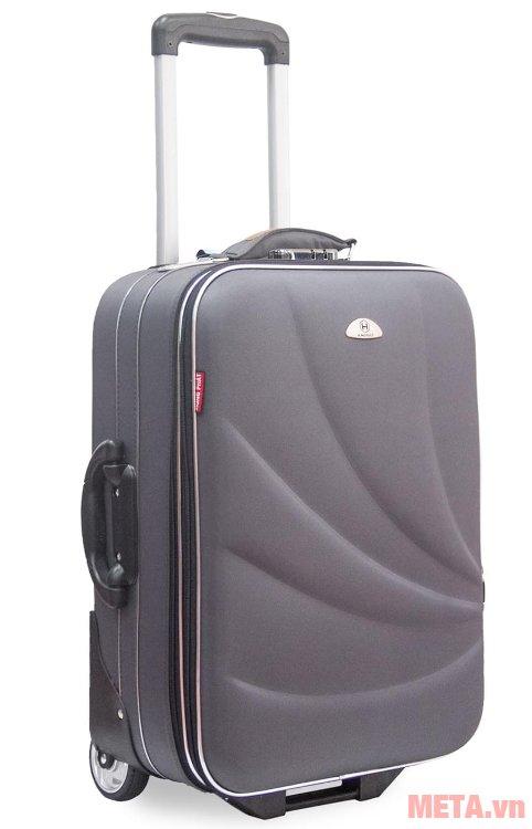 Vali thường 2 bánh VLT003K 20 inch màu ghi