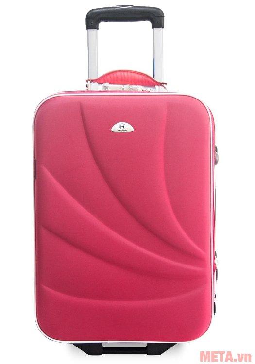 Vali thường 2 bánh VLT003K 24 inch màu hồng