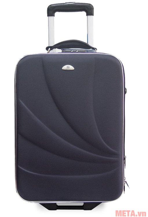 Vali thường 2 bánh VLT003K 20 inch màu xanh đen