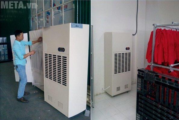Máy hút ẩm công nghiệp FujiE HM-2408D dùng cho diện tích phòng 150 - 200 m2
