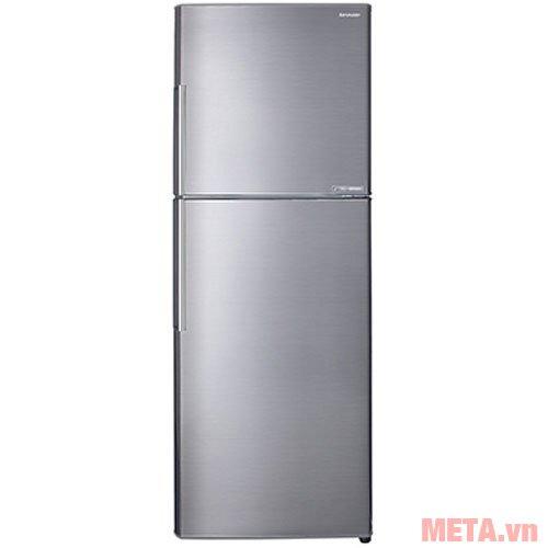Tủ lạnh Sharp inverter SJ-X346E-SL màu bạc