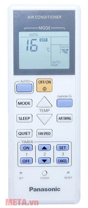 Điều hòa 1 chiều Panasonic N12SKH-8 có điều khiển từ xa