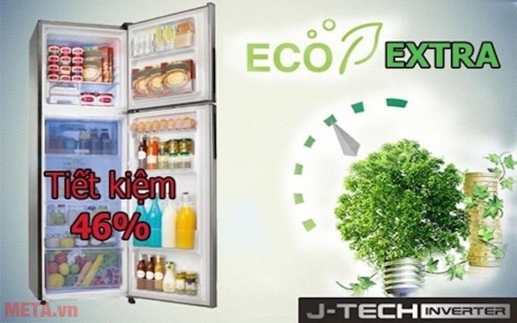 Tủ lạnh Sharp J-TECH INVERTER SJ-X281E-DS 271L