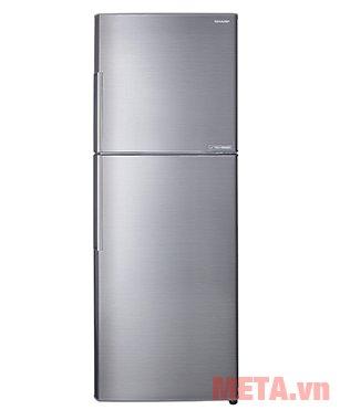 Tủ lạnh Sharp Inverter SJ-X316E-SL có thiết kế tiện lợi