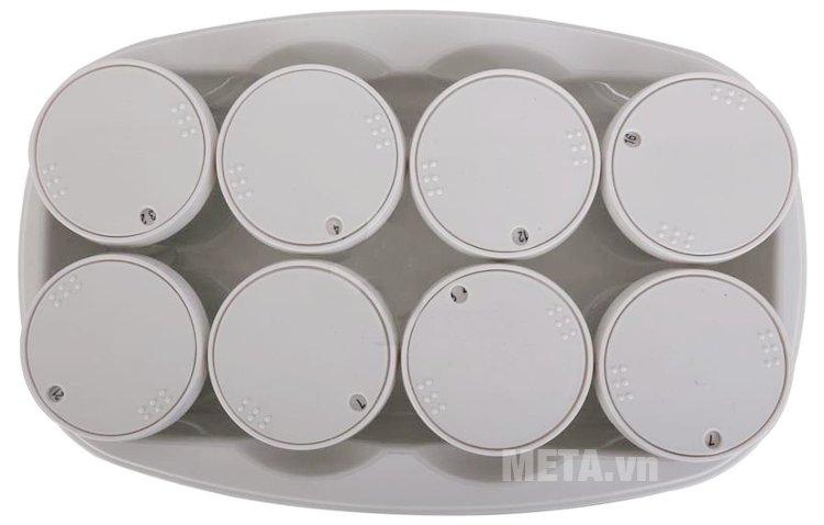Máy làm sữa chua Kangaroo KG81 giữ nhiệt ổn định giúp sữa lên men nhanh hơn