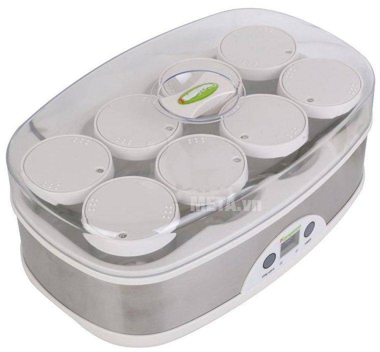 Máy làm sữa chua Kangaroo KG81 có công suất thấp 50W giúp tiết kiệm điện năng