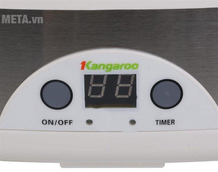 Máy làm sữa chua Kangaroo KG81 có nút cái đặt thời gian theo ý muốn