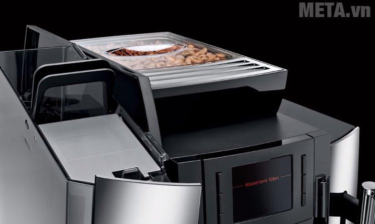 Máy pha cà phê tự động Jura Impressa WE8 có ngăn chứa hạt 500g