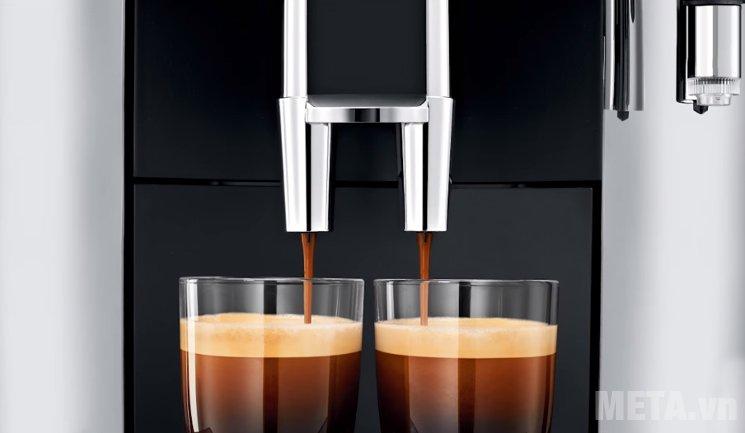 Máy pha cà phê tự động Jura Impressa WE8 pha chế 2 tách/lần