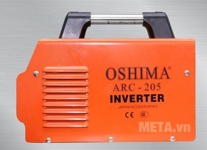 Máy hàn Oshima ARC 205 sử dụng que hàn 2.6mm