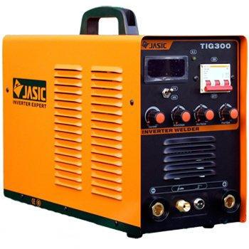 Jasic TIG 300 (R24) có 2 chức năng: hàn que và hàn TIG, chế độ 2T/4T.