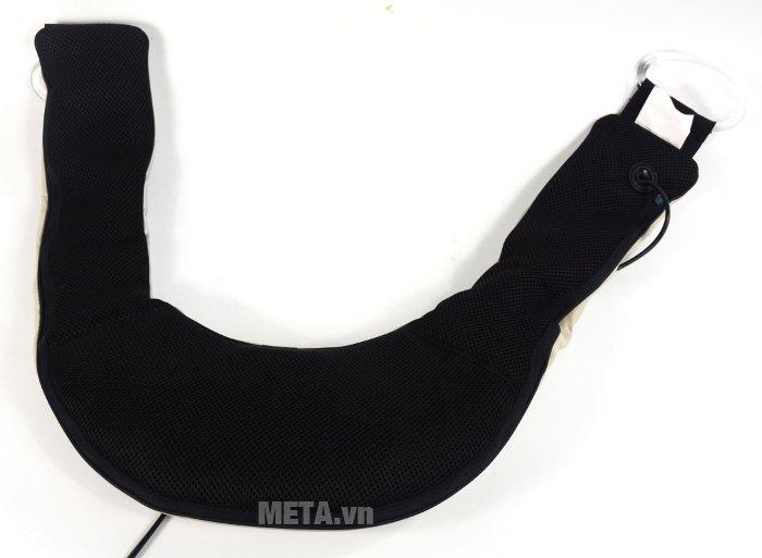 Đai massage trị đau vai, gáy, lưng Beurer MG150 có phía trong là mặt lưới