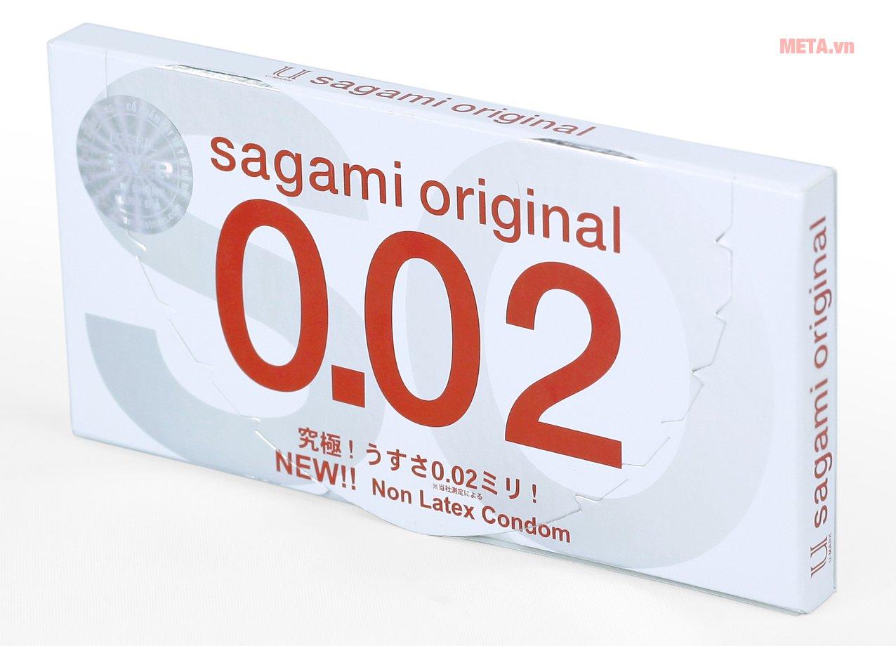 Bao Cao Su Sagami Original 0.02 - Hộp 2 Gói