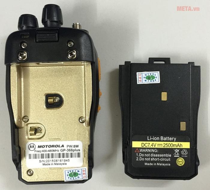 Bộ đàm Motorola GP 368 Plus có chế độ bảo hành lên tới 24 tháng