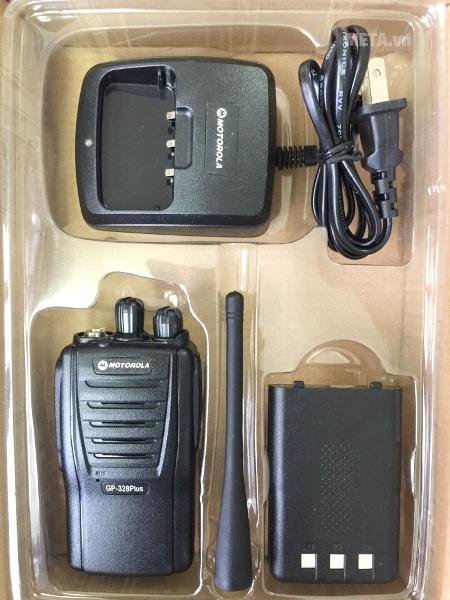Bộ đàm Motorola GP 328 Plus đàm thoại liên tục với dung lượng pin lớn