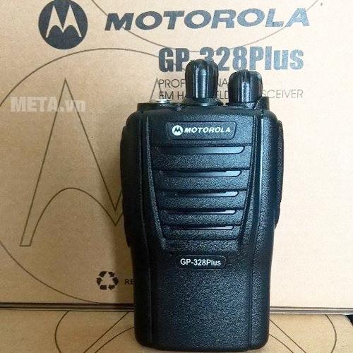 Bộ đàm Motorola GP 328 Plus bền bỉ với mọi tác nhân bên ngoài