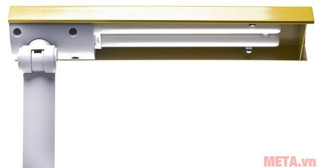 Bóng đèn lắp vào chụp đèn của đèn bàn cao cấp V-Light SFL 15W dễ dàng.
