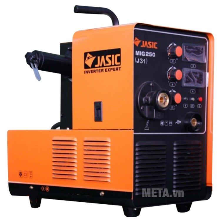 Máy hàn bán tự động Jasic MIG 250 (J31) có khoảng điều chỉnh dòng hàn 50A - 250A