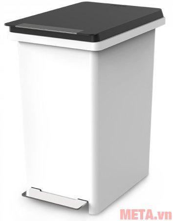 Thùng rác nhựa đạp dòng Compact Fitis PPS1-903 có vỏ bằng nhựa