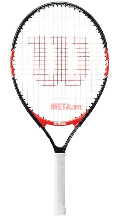 Vợt tennis trẻ em Wilson Roger Federer 23 WRT200700 có mật độ căng cước 16 x 17 dây