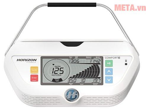 Màn hình LCD của xe đạp tập Horizon Comfort 3-02
