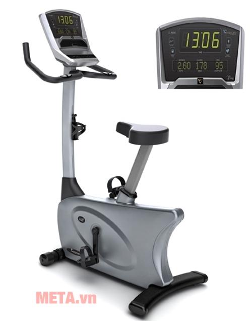 Xe đạp tập Vision U20 - Classic tay cầm có biến cảm ứng đo lường nhịp tim suốt quá trình tập