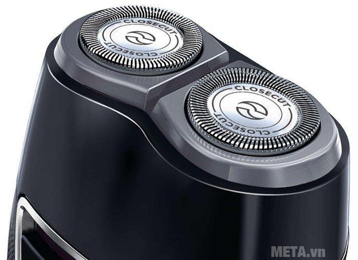 Máy cạo râu Philips PQ217 thiết kế dao cạo tự làm sắc
