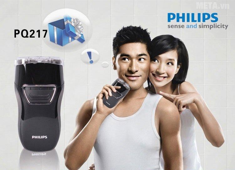 Máy cạo râu Philips PQ217 giúp nam giới trông thật bảnh bao