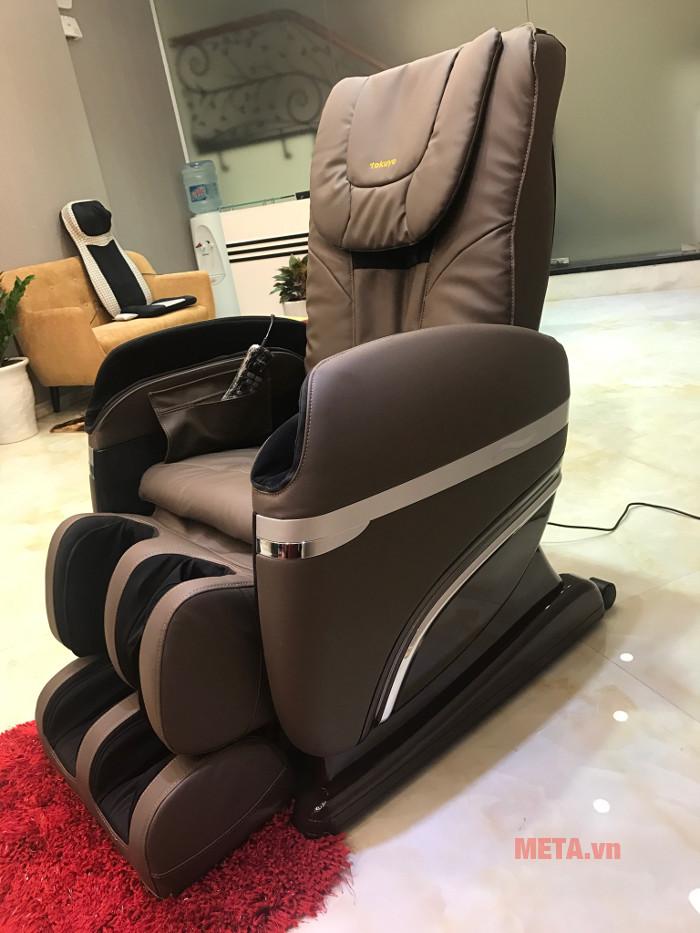Ghế massage toàn thân Tokuyo TC 366 có túi khí massage thông minh
