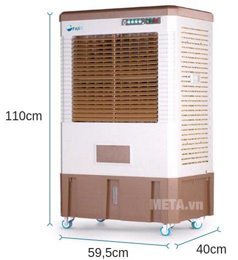 Kích thước của máy làm mát Air Cooler FujiE AC-40C