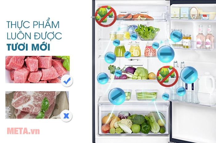 Tủ lạnh Samsung Digital Inverter 384L RT38K5032GL/SV làm lạnh nhanh giữ thực phẩm luôn tươi ngon