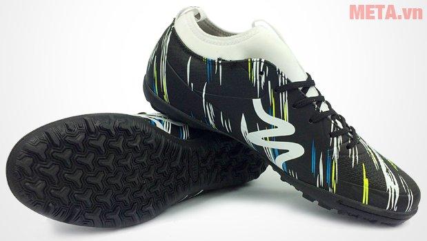 Giày đá bóng Mitre 160930 màu đen trắng