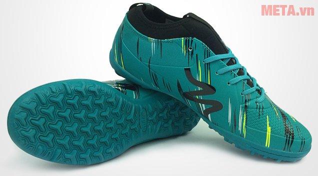 Giày đá bóng Mitre 160930 màu xanh