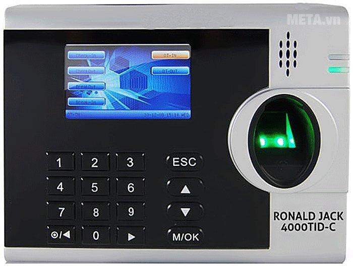 Ronald Jack 4000TID-C có màn hình LCD màu