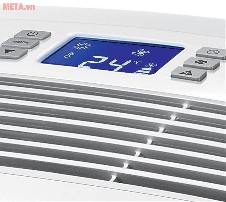 Máy lạnh di động Delonghi PAC AN111 có màn hình hiển thị nhiệt độ