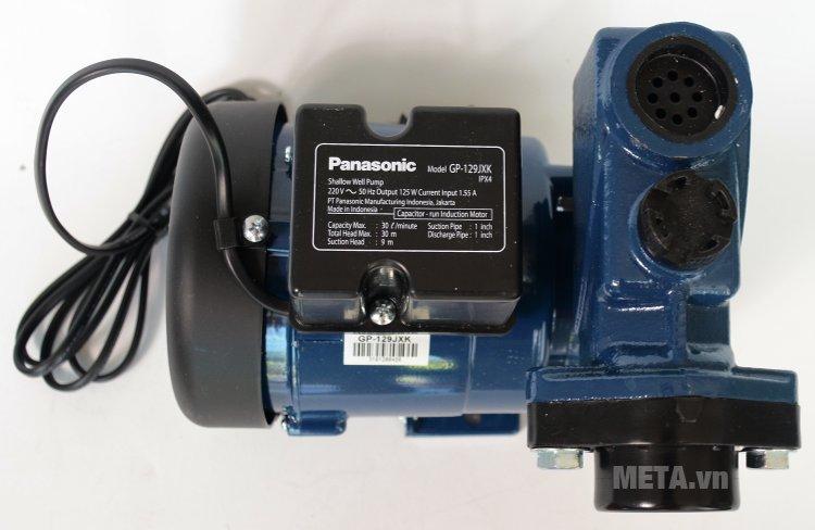 Máy bơm nước đẩy cao Panasonic GP-129JXK sử dụng cho gia đình có nguồn nước yếu.