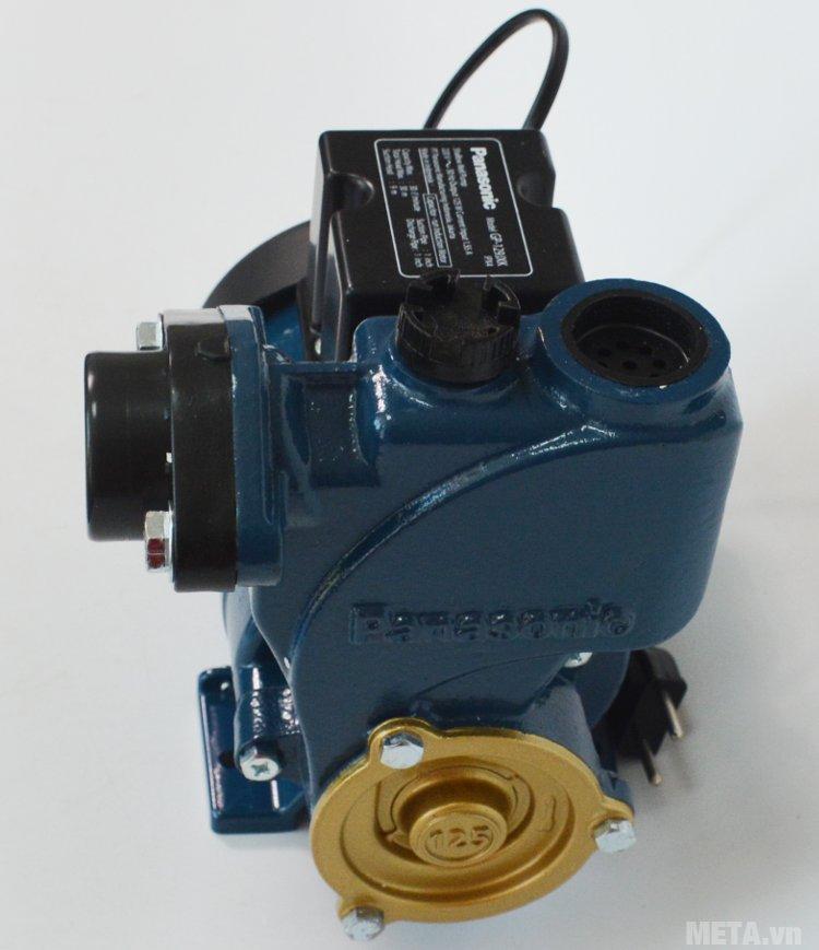 Máy bơm nước đẩy cao Panasonic GP-129JXK có thân mô tơ bằng nhôm đúc
