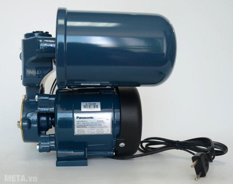 Máy bơm nước tăng áp Panasonic A130JAK dùng nguồn điện dân dụng 220V/50Hz