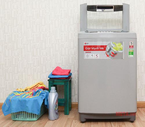 Máy giặt lồng đứng LG 10kg WF-S1015DB