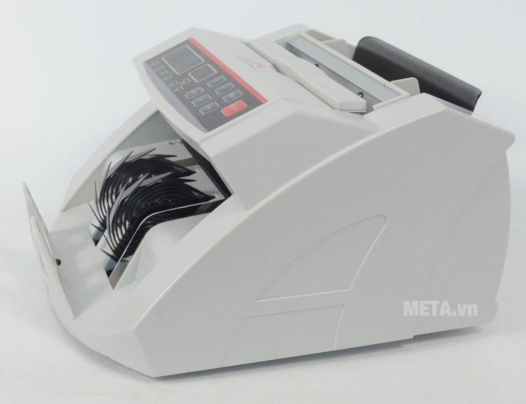 Máy đếm tiền thế hệ mới Silicon MC-2200 có vỏ màu trắng sang trọng
