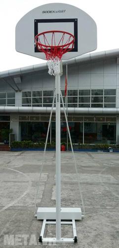 Trụ bóng rổ điều chỉnh độ cao S14625 (BS825) sơn tĩnh điện màu ghi sáng