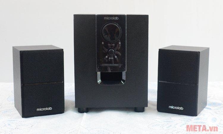 Loa Microlab M-106BT kết nối Bluetooth