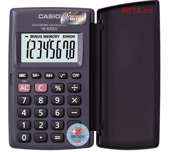 Máy tính Casio HL-820LV-BK/WE