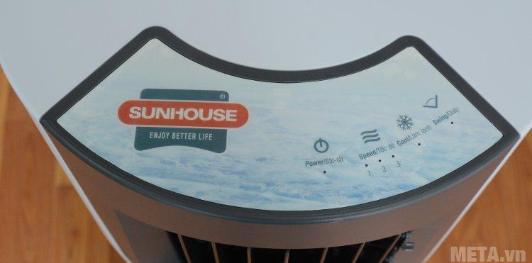 Quạt điều hòa Sunhouse SHD7715 có bảng điều khiển điện tử