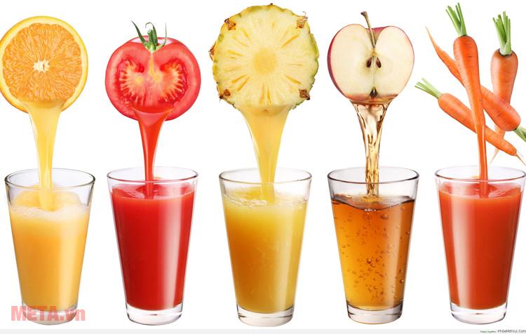 Máy ép trái cây Braun J700 có khả năng ép nhiều loại trái cây