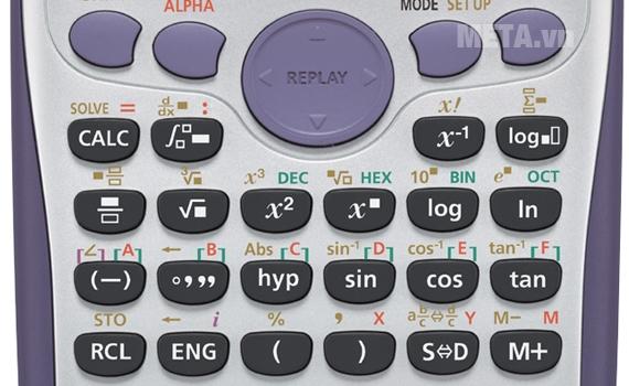 Casio fx 570ES Plus là dòng máy tính học sinh nổi bật nhất hiện nay về chức năng cũng như kiểu dáng